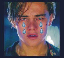Leo Cryin' Emoji Tears Kids Clothes