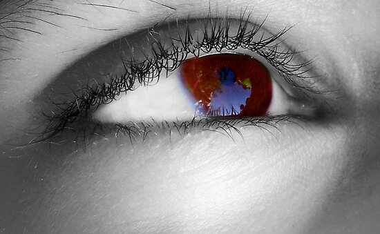 Look into my eyes by SalmaAssal