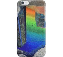 Skyline In A Puddle, Sydney, Australia 2012 iPhone Case/Skin