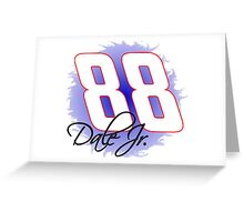 88 Dale Jr Greeting Card