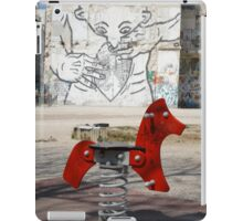 Introspective Grafitti, Marseilles, France 2012 iPad Case/Skin