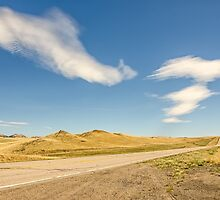 Interesting Clouds In Big Sky Country by Sue Smith