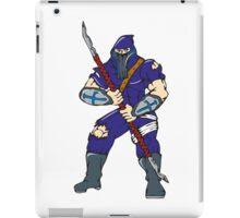 Ninja Masked Warrior Spear Cartoon iPad Case/Skin