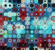 flower tile 5 by BLIXICON