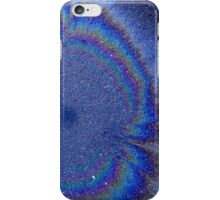 Galaxy Or Oil Spill? (Ryde, Australia 2012) iPhone Case/Skin