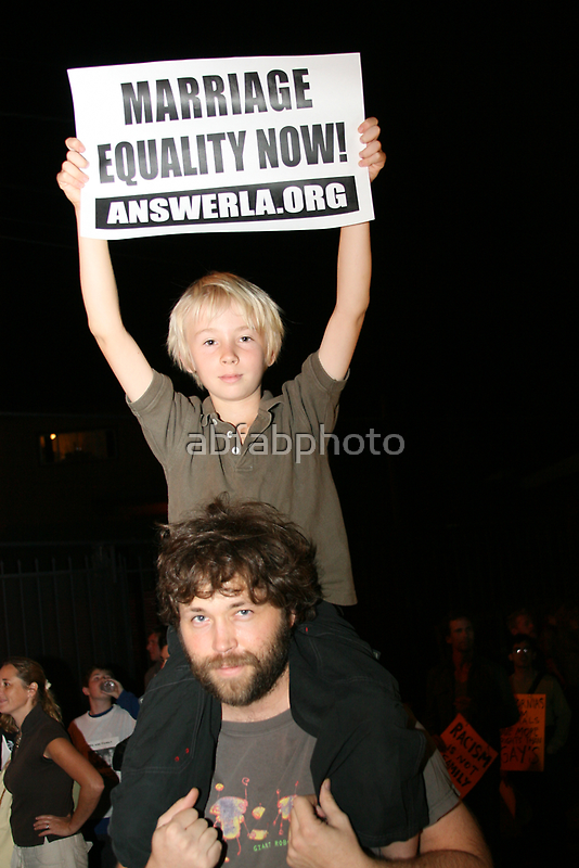 Marriage Equality Now by abfabphoto