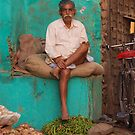 Nawalgarh, India by Peter Gostelow