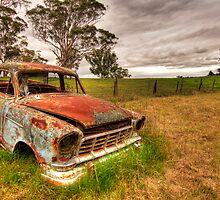 Bush Fire Brigade...(past tense!) by Clayton Hairs