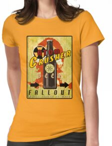 Atom Crusher Beer Womens Fitted T-Shirt