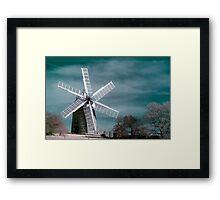 Infra-red Windmill Framed Print