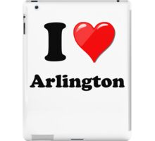 I Love Arlington iPad Case/Skin