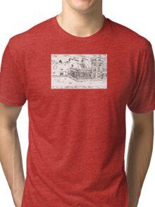 Fleet Street Sketch 2 Tri-blend T-Shirt