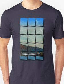 Bridge, scenery and some clouds | architectural photography T-Shirt