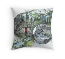 Magical World Throw Pillow
