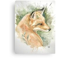 What does the fox say? Canvas Print