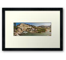 Yellowstone River Framed Print