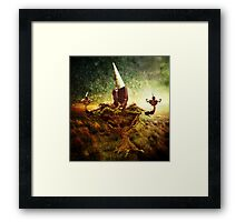 Some ideas grow on trees...and some sprout like a pair of shoes Framed Print