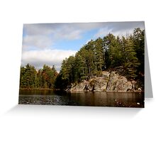 In algonquin park 1 Greeting Card
