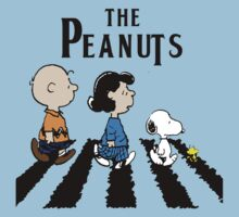 Peanuts Beatles by Francerost