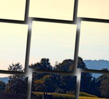 Beautiful farmland scenery | landscape photography Sticker