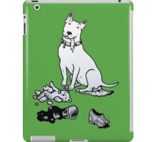 The Helpful Bull Terrier iPad Case/Skin
