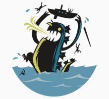 Sea Monster Rage!!! T-Shirt