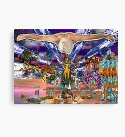 Emma's Fantasy Stargate Nova - digital art Canvas Print