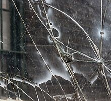 The cracked window by falcongillis