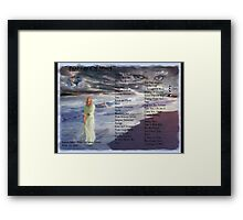 Fantasy Of Mind With Wonderful Hal Smith Framed Print