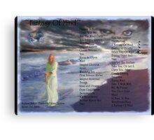 Fantasy Of Mind With Wonderful Hal Smith Canvas Print