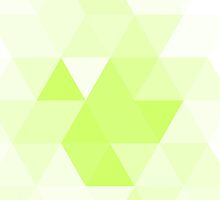 Juicy spring green triangles by HelgaScand