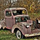 Old Chevy Truck by Kate Adams