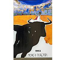 Toros En Ronda Photographic Print