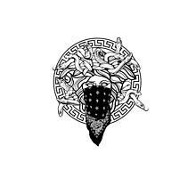 CROOKS & CASTLES - MEDUSA CORE BLACK & WHITE by CROOKSCREW