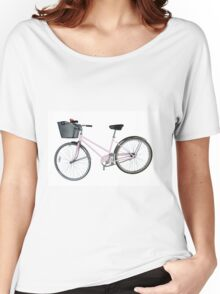 Pink Pedal Challenge 2015 - Support Jo and Ginny - bike only Women's Relaxed Fit T-Shirt
