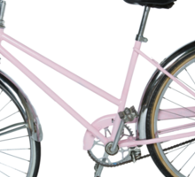 Pink Pedal Challenge 2015 - Support Jo and Ginny - bike only Sticker