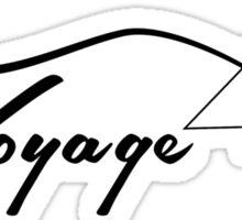 Voyage Sticker