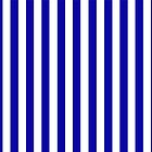 Navy Blue Striped French Bedspread by deanworld
