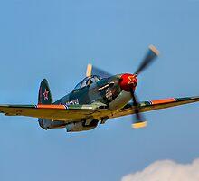 Yakovlev Yak-9UM yellow 06 HB-RYA by Colin Smedley