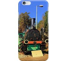 Historic steam train, abandoned | transportation photography iPhone Case/Skin