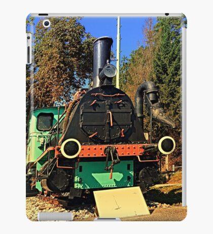 Historic steam train, abandoned | transportation photography iPad Case/Skin