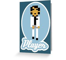 Player Greeting Card