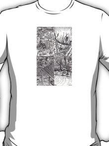 B&W Samurai Noir  T-Shirt