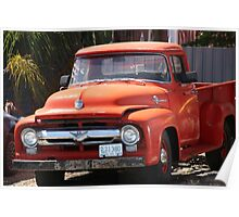 1955 Ford Pick Up Poster