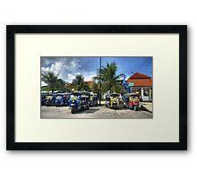 Tuktuks Framed Print