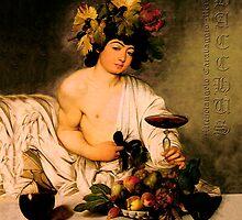 Bacchus - Michelangelo Merisi da Caravaggio by fuxart