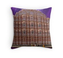 Palace of the Winds, Jaipur, Rajasthan, India  Throw Pillow