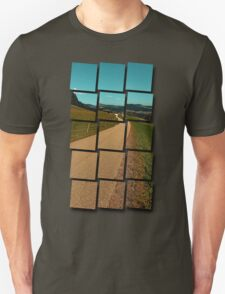 Country road into some autumn scenery | landscape photography Unisex T-Shirt