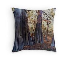 Old Cypress Throw Pillow