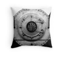 Steam Engine  # 1229 Throw Pillow